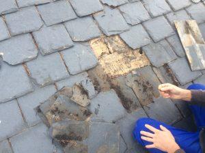 reparacion tejados pizarra madrid