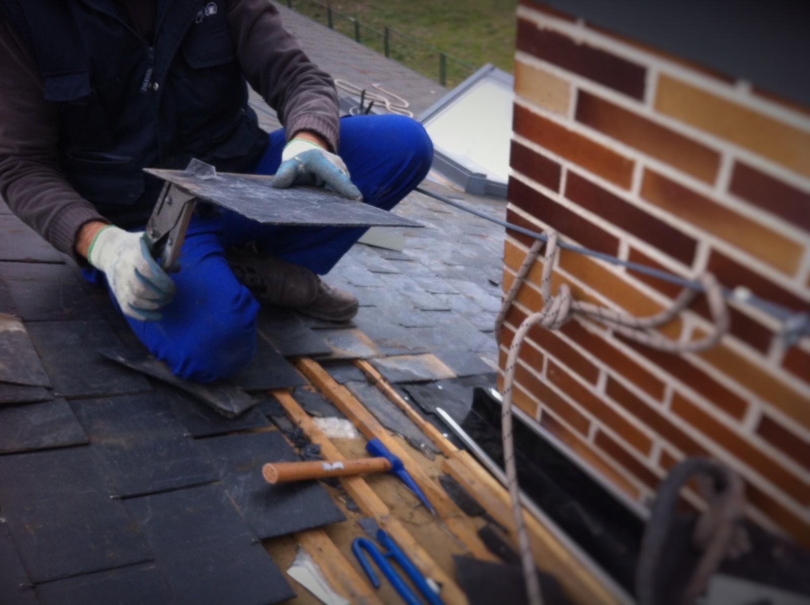 ¿Cómo arreglar un tejado de pizarra?