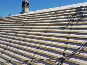tejados de pizarra madrid con doble rastrel aislamiento