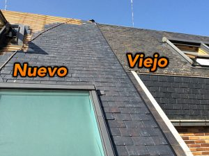 rehabilitación madrid tejado pizarra