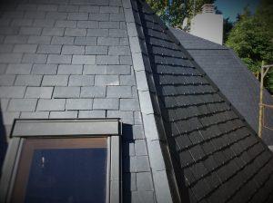 rehabilitación completa de tejados de pizarra