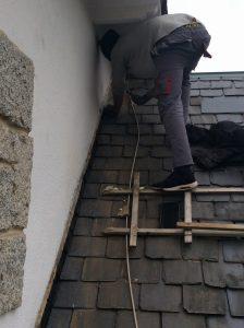 arreglo de tejados de pizarra en MAdrid reparación