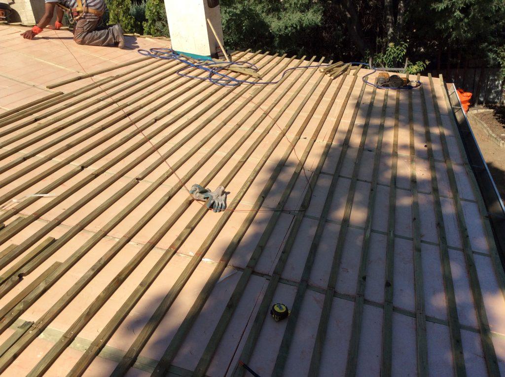 Precio rastrel tejados pizarra madrid