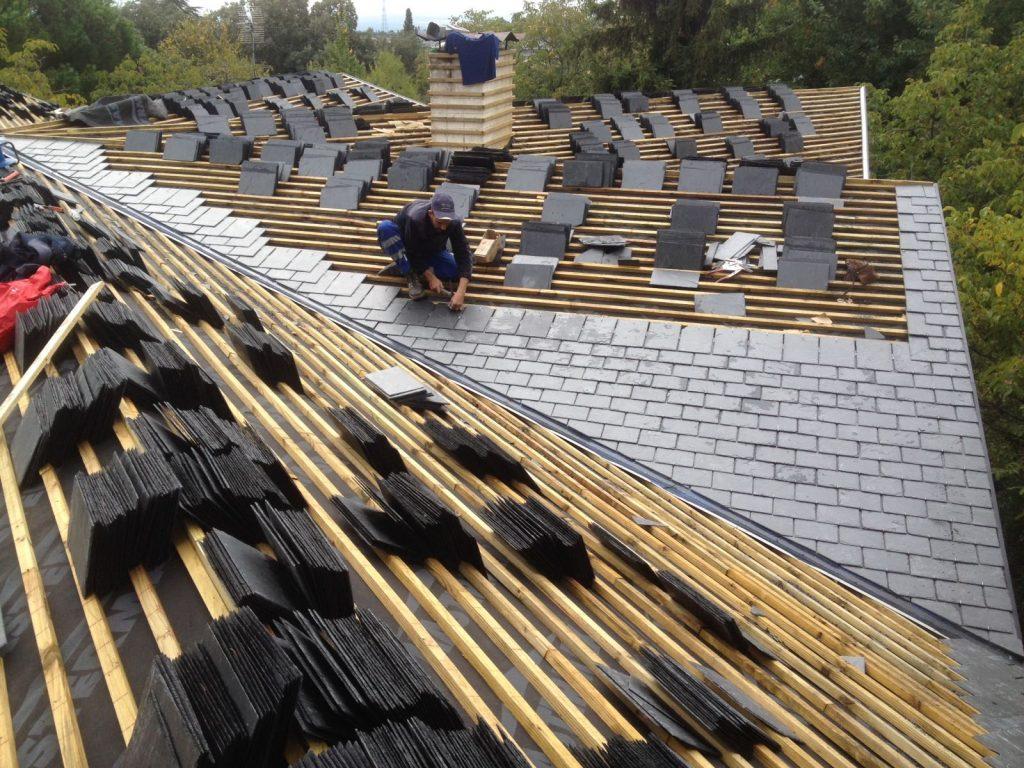 precio colocación pizarra en tejado