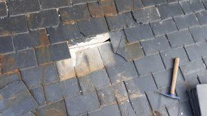 reparación de tejado de pizarra madrid