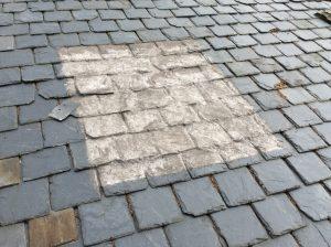reparación y arreglo de tejados de pizarra