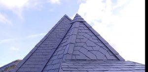 decoración en tejados de pizarra en madrid